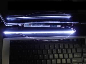 Zamena lampe u ekranu laptopa